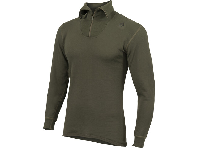 Aclima HotWool 230G/M2 Polo Zip, olive night